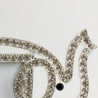 ingrosso temi cornici-Cornice per elefante in argento Cornice per foto in strass trasparente Cornice per animali a tema Cornice per foto decorativa 200 pezzi DHL
