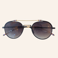 Wholesale titanium sport for sale - Group buy Titanium Sunglasses Designer High Quality Sun Glasses Lady Brand Round Shades Female