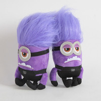 Wholesale despicable toys for sale - Group buy Despicable Me Purple Minions Stuffed Animals Doll CM Minions Plush Doll Toys Best Gifts For Kids