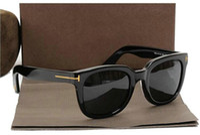 lunettes occasionnelles achat en gros de-Nouveau luxe haut qualtiy nouvelle mode Casual 211 Tom lunettes de soleil pour homme femme Erika Lunettes ford Designer marque lunettes de soleil avec 9688