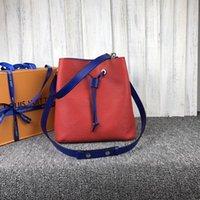 atmosphäre ledertaschen großhandel-Designer Luxus-Handtaschen Geldbörsen Frauen echtes Leder einfache Retro-Atmosphäre Umhängetasche Mode vielseitig Kette Tasche 54369