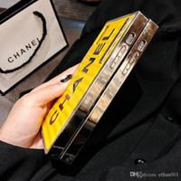 boa qualidade telefone casos venda por atacado-Luxo pacote de cadeia de recipiente de boa qualidade phone case para iphone 6 6s 7 8 8 plus xr x tampa traseira shell para iphone x xr 7 plus case