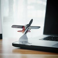 Wholesale model aircraft accessories resale online - 2019 Gentleman Style Aircraft Model car motion ornament Solar Air Freshener Accessories New