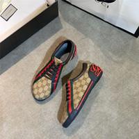 красная удобная обувь оптовых-2019 Дизайнерская обувь роскошные кроссовки 3M светоотражающие для девушки, женщины, мужчины, розовое золото, красный, удобная плоская повседневная обувь, размер 36-44 C06