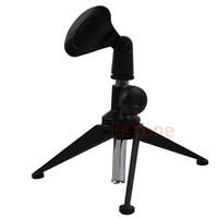 регулируемые металлические зажимы оптовых-High Quality Arrival Adjustable Metal Desktop Table Mic Microphone Clamp Clip Holder Stand Tripod Hot Sale