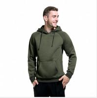 erkekler seksi hoodie toptan satış-9 Renk 5 Boyutu sıcak Moda Gri Mavi Mens Slim Fit Seksi Üst Tasarlanmış Hoodies Tişörtü erkek Giyim