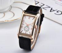 quarzuhr funktioniert großhandel-Small Dial Works !! Luxus Hot Items Verkauf Leder Rose Gold Damen Quarz Kleid Uhr Frauen Montre Femme Reloj mujer dropshipping