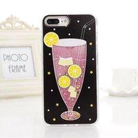 entwerfen von handy fällen großhandel-Heißer sommer handy zubehör eiscreme design tpu telefon case flicker serie abdeckung für iphone 8 x