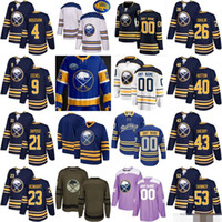 c096aba70 Wholesale eichel jersey resale online - Custom Men Women Youth Buffalo Jack  Eichel Jeff Skinner Rasmus