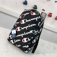Wholesale quality laptops for sale - Group buy Designer Backpack Unisex Champion Outdoor Traveling Backpacks Top quality Fashion Students Schoolbag Laptop Backpacks