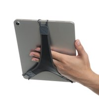 Wholesale mix s tablet for sale - Group buy TFY Non slip Tablet Hand Strap Holder Finger Grip with Soft PU for iPad Pro quot Samsung Galaxy Tab quot Pro quot S and More