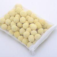 akvaryum çantası toptan satış-500g Balık Tankı Akvaryum Filtre Medya Nitrifikasyon Bakteriler Su Temizleme Biyokimyasal Topu Ile Örgü Çanta 5 8sx Ww