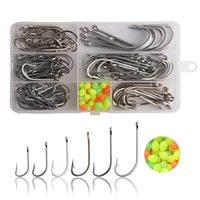Lot 34007 Stainless Steel O/'shaughnessy Fishing Hooks Long Shank Saltwater Hooks