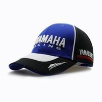 ingrosso qualità yamaha-2019 di alta qualità Moto Gp Moto 3d ricamato F1 Racing Cap Uomini Donne Snapback Caps Cappellino Yamaha Cappelli Y19070503