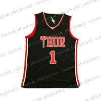 Wholesale jersey thor for sale - Group buy Movie Green Hulk Thor Basketball Jerseys All Stitched Cartoon jerseys Size XS XL
