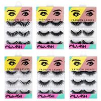 c5cf0c7e74e Wholesale volume eyelash extensions for sale - Group buy 4 Pairs D Mink  Hair False Eyelashes