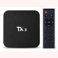 TX3 Android 9.0 TV Box Amlogic S905X3 4GB RAM 32GB ROM 2.4G 5G Wifi BT4