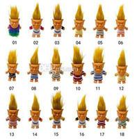 ingrosso nuovi giocattoli caldi adulti-2019 bambola calda del troll di vendita calda di nuovo arrivo giocattoli da collezione creativi action figure in silicone giocattoli Bambola per decompressione per adulti