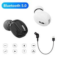 universal-ohrhörer großhandel-X9 Mini In-Ear Ohrhörer drahtloser Bluetooth 5.0 Noise Reduction Anruf Hörmuschel Schwere Bass-Musik-Kopfhörer