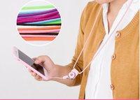 hals id-karte großhandel-Handy Lanyard Straps Neck + Handy Gurt Tasche Brieftasche Anhänger ID Card PasskartenhalterKeys Clasp Running Holder