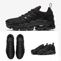 ingrosso calzature aeree-2018 Commercio all'ingrosso di alta qualità arcobaleno completo nero whitered TN uomo Run Sport Calzature Sneakers Scarpe da corsa taglia 36 aria 45 Nike Air Max TN PLUS Vapormax vapor
