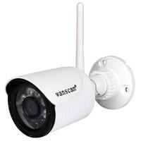 zoom wifi wasserdicht großhandel-WANSCAM K22 Wireless WiFi / Bewegungsmelder / Wasserdicht IP66 / Dreifacher Digitalzoom / HD Infrarot Nachtsicht Netzwerküberwachung C
