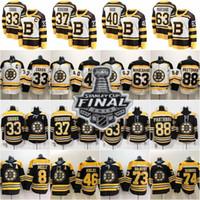 bruins inverno jersey venda por atacado-2019 Stanley Cup Inverno Clássico Boston Bruins Patrice Orr Chara Brad Marchand David Pastrnak DeBrusk Ropa Krejci Krug McAvoy Camisolas De Hóquei
