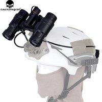 capacete tático nvg venda por atacado-Box Original Emersongear PVS-31 NVG manequim Tactical Capacete Night Vision Goggle Battery Case Modelo Manequim para Helmet