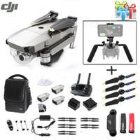 caméras dji achat en gros de-DJI Mavic Pro 4K caméra drone quadricoptère Fly Pack Plus Combo w / Ultimate Bundle