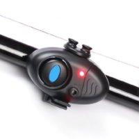 Wholesale clip fish bite alarm resale online - 1Pcs Electronic Buffer Fishing Alarm Bells Rod Light Fish Bite Lure Sea pole Alarm Clip On Fishing Rod
