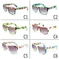 Wholesale sunglasses boys resale online - Retro Kids Camouflage Sunglasses Oculos Boys Girls Eyeglasses Children Sports Eyewear Baby Gafas UV400 colors MMA2060