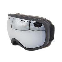 skibrille fall großhandel-Professionelle Männer Frauen Skibrille Brillen doppelte Schichten UV400 Anti-Nebel Big Ski-Maske Ski Brille Schnee Snowboardbrillen mit Fall