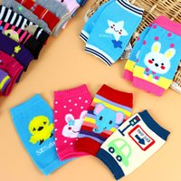 ingrosso gambali infantile del ginocchio-Baby Socks Soft Kids Gomito Cuscino Ginocchio Strisciante Infant Toddler Baby Safe Baby Leggings 50 p