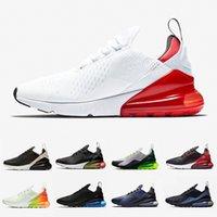 fotos pretas venda por atacado-Nike Air Max 270 mens running shoes foto azul médio olive volt hot perfurador cerceta da marinha bruce lee 270 s mulheres designer sapatos formadores tênis esportivos 36-45