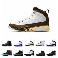 ördek basketbol ayakkabıları toptan satış-Bunu yapmak için rüya 9 9 s basketbol ayakkabıları erkekler için unc marka BRED uzay reçeli OREGON DUCKS HEYKELI erkek moda spor sneakers