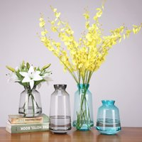 Wholesale cute vases for sale - Group buy Cute Candy Color Modern Flower Vase Colorful Glass Vase High Quality Nordic Decoration Home Housewarming Gifts