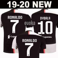 bf9e7479a New 2019 RONALDO JUVENTUS Soccer Jersey 18 19 20 JUVE 2020 Home Away DYBALA  HIGUAIN BUFFON Camisetas Futbol Camisas Maillot Football Shirt