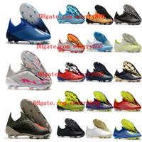 Wholesale leather quality football shoes for sale - Group buy 2019 mens soccer cleats X FG soccer shoes original x fg football boots outdoor scarpe da calcio high quality Nemeziz