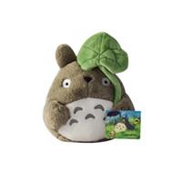 anime de peluche gratis al por mayor-Mini Kawaii Mi vecino Totoro Hayao Miyazaki juguetes de peluche de dibujos animados de peluche niños de la muñeca del envío cabritos de las muchachas Brinquedos figuras de anime gratis