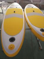 aufblasbare stand up paddle board großhandel-Leichtes aufblasbares Fallstich-Stand-Up-Paddle-Board