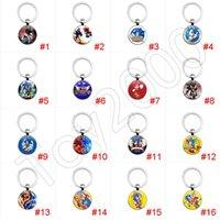 mini-boom großhandel-Sonic Boom Amy Rose Sticks Schwänze Werehog PVC Schlüsselbund Action-Figuren Knöchel Dr. Eggman Anime Pop Figuren Puppen Kinder Spielzeug für Kinder 12
