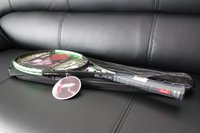 raket dizeleri toptan satış-Toptan en kaliteli tenis raketleri Blade 98 Yeşil raket dize ve çanta ile 1 parça raket ücretsiz kargo
