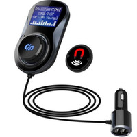 Wholesale hands free for iphone car for sale - Group buy BC30 Car MP3 Bluetooth Hands Free Kit Kit TF Card Memory Lossless Music Play Car FM Transmitter Dual USB Fast Charger