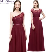 Wholesale beach wedding dresses fast for sale - Group buy In stock fast ship styles Vestido De Festa burgundy Bridesmaid Dresses Chiffon Beach long dress for wedding party for