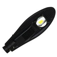 venda de luzes de rua led venda por atacado-Frete grátis venda AC85-265V 50 W conduziu a luz de rua IP65 Bridgelux 130LM / W levou luz de rua 3 anos de garantia