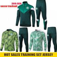 fatos de jean venda por atacado-2019 2020 Palmeiras Futebol Treino Dudo G.JESUS JEAN Suit LUCAS LIMA VERDE 19 20 Palmeiras Suit maillot de pé Jacket Training