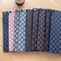 schutzhüllen für ipad minis großhandel-für iPad Mini 1 2 3 4 Hülle für iPad Pro-Hüllen Trend Vintage Monogram Ultradünne Hülle für iPad Air Shell Vibrationssichere Schutzhülle