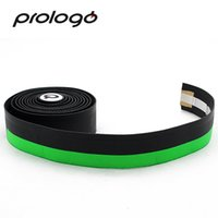 Wholesale bicycle handlebar bar ends for sale - Group buy Prologo Original One Touch PU TAPE Silicon Gel Bicycle Handlebar Tape Road Bike Grip Cycling Bar End Grip Bandage