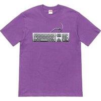 clavier s achat en gros de-Custom SS19 Keyboard Tee T-SHIRT LOGO DE BOÎTE CLASSIC CUPID RIDERS 25 ANS D'ANNIVERSAIRE