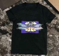 ingrosso tees di halloween-di marca del progettista caldo 1-7 anni ragazze dei neonati libellula T-shirt r Shirt Top cotone dei bambini Tees bambini Abbigliamento A001